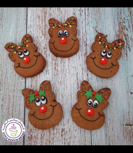 Cookies - Gingerbread Cookies - Reindeers 01
