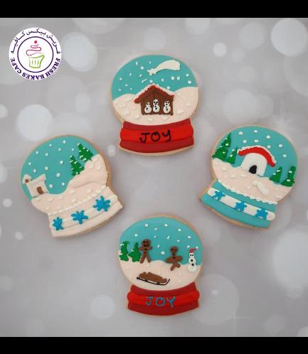 Cookies - Sugar Cookies - Snow Globes