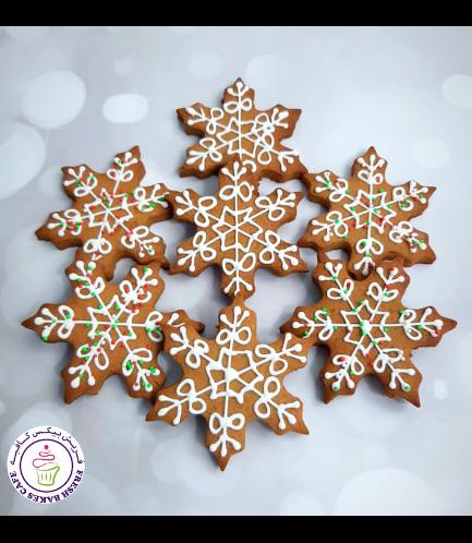 Cookies - Gingerbread Cookies - Snowflakes
