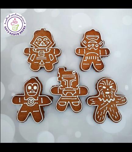 Cookies - Gingerbread Cookies - Star Wars