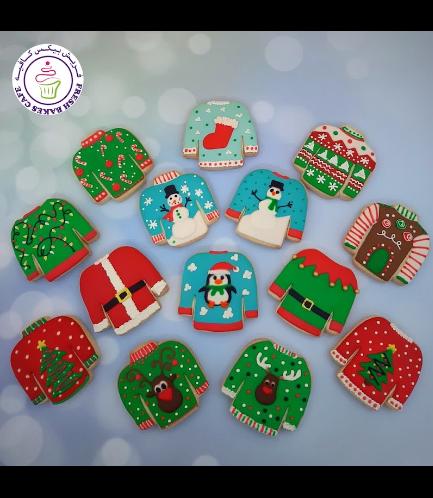 Cookies - Sugar Cookies - Ugly Christmas Sweaters