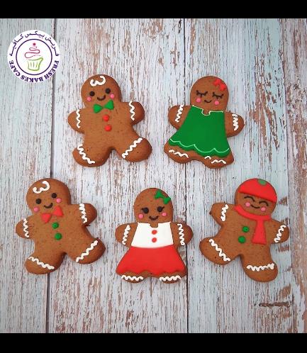 Cookies - Gingerbread Man Cookies - Boy & Girl - Cute 02