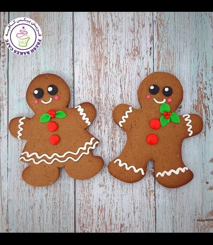 Cookies - Gingerbread Man Cookies - Size - Large