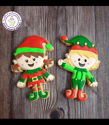 Cookies - Sugar Cookies - Elves