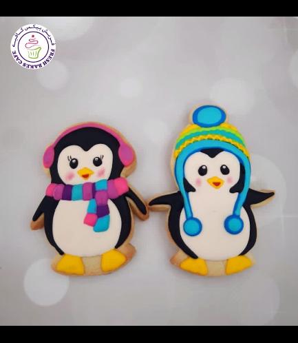 Cookies - Sugar Cookies - Penguins 05