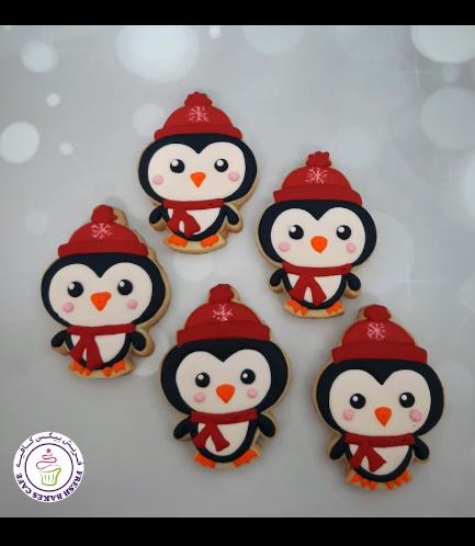 Cookies - Sugar Cookies - Penguins 06
