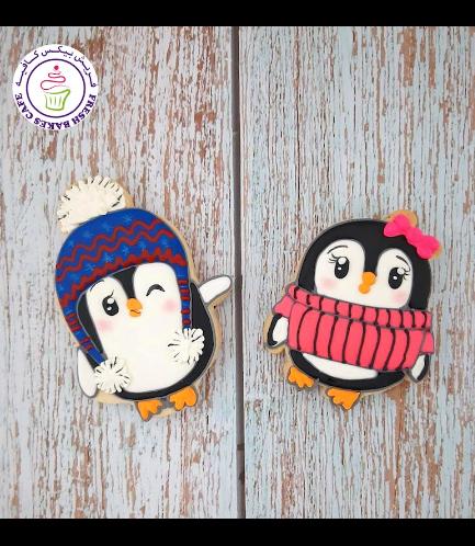 Cookies - Sugar Cookies - Penguins 04