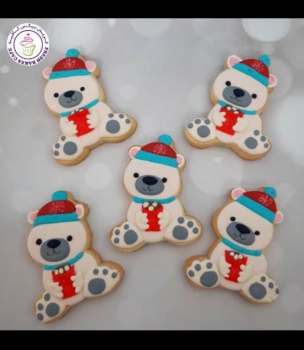 Cookies - Sugar Cookies - Polar Bears