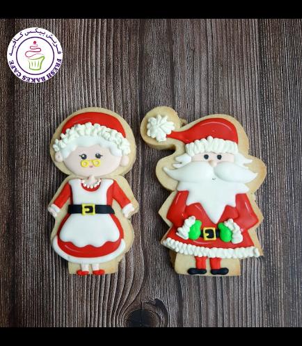 Cookies - Sugar Cookies - Santa & Mrs Claus 02