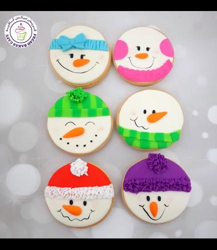 Cookies - Sugar Cookies - Snowmen 08