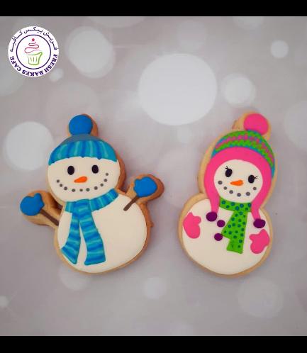 Cookies - Sugar Cookies - Snowmen 10
