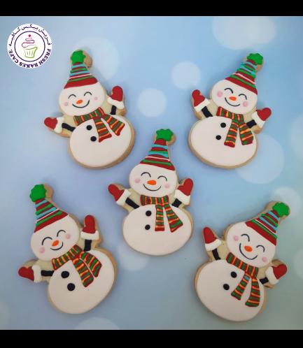 Cookies - Sugar Cookies - Snowmen 02