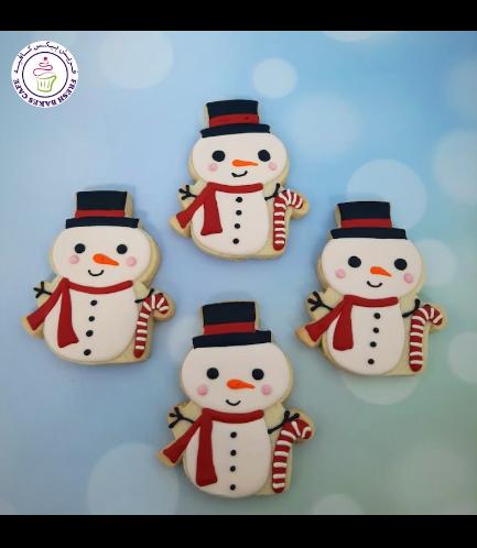 Cookies - Sugar Cookies - Snowmen 09