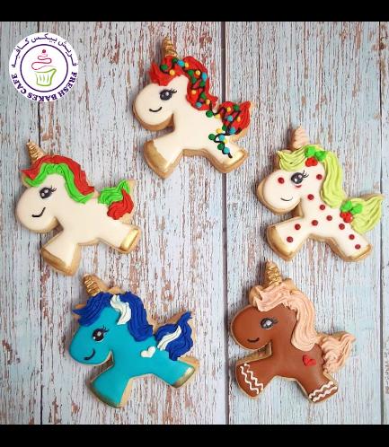 Cookies - Sugar Cookies - Unicorn 03