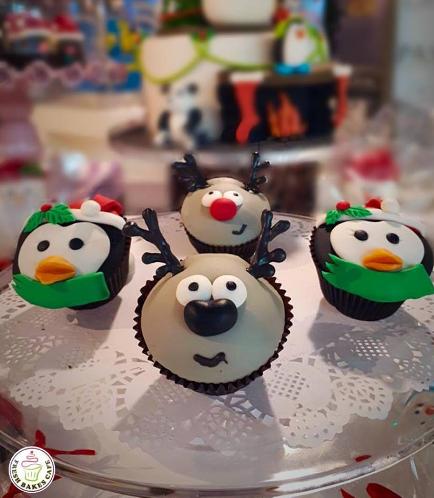 Christmas Themed Cupcakes 14