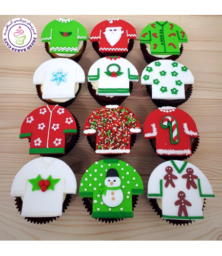 Cupcakes - Ugly Sweaters