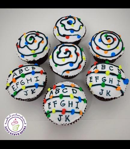 Cupcakes - Christmas Lights 01a