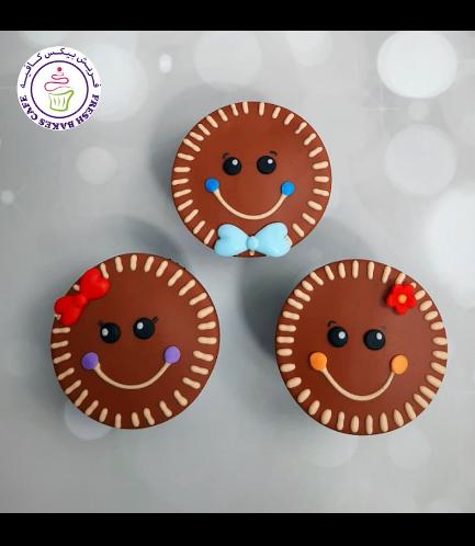 Cupcakes - Gingerbread Boy & Girl
