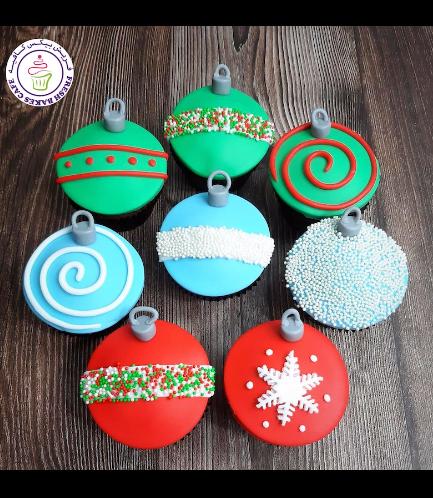 Cupcakes - Ornaments