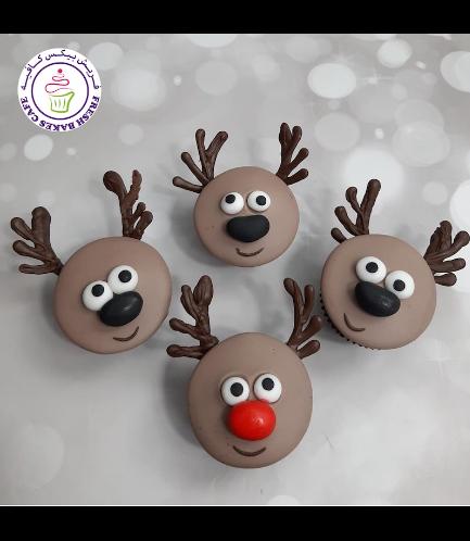 Cupcakes - Reindeers 01