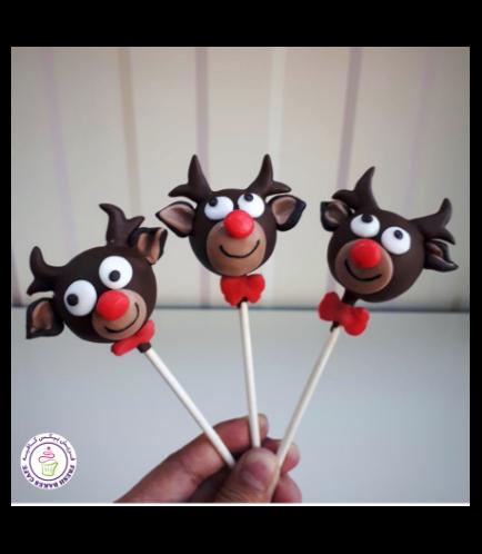 Cake Pops - Reindeers