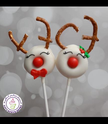 Donut Pops - Reindeers 02