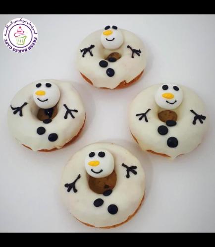 Donuts - Snowmen 01