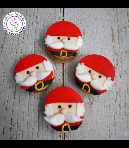 Christmas Themed Donuts - Santa 02
