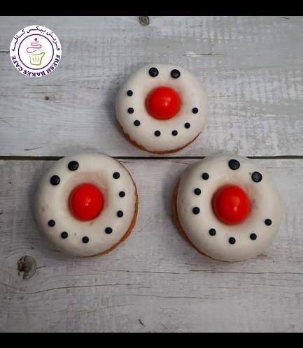 Donuts - Snowmen - Faces 03
