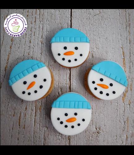Donuts - Snowmen - Faces 04