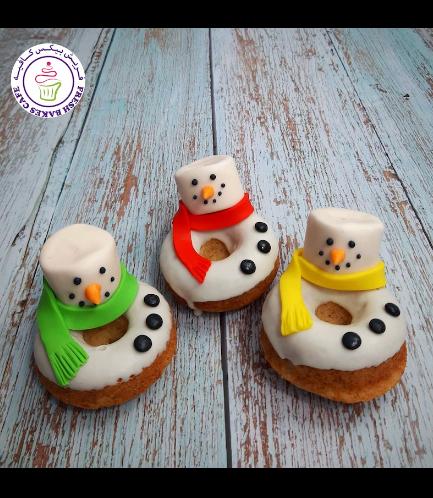 Donuts - Snowmen - Marshmallow