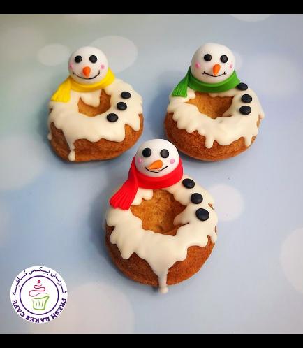 Donuts - Snowmen 02