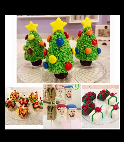 Christmas Themed Krispie Treats 1