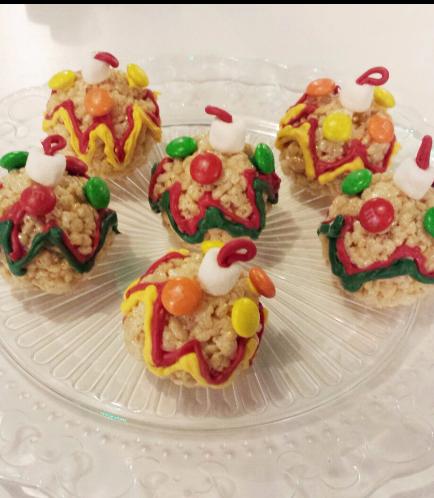 Christmas Themed Krispie Treats 4