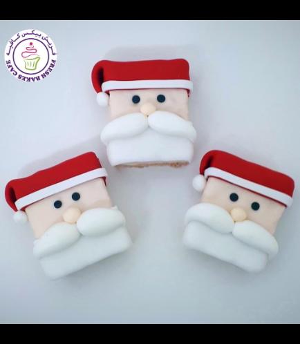 Krispie Treats - Santa