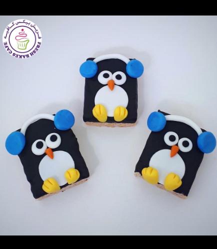 Christmas Themed Krispie Treats - Penguins 02