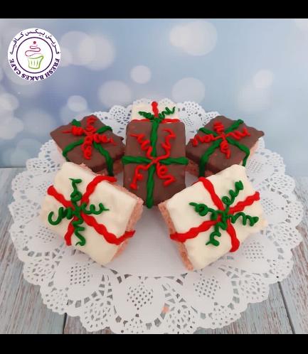 Christmas Themed Krispie Treats - Gifts