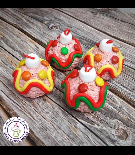 Krispie Treats - Ornaments