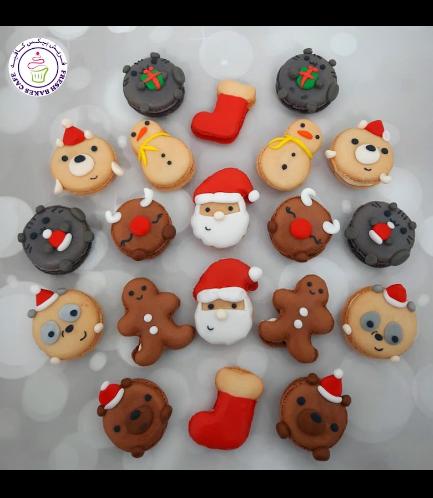 Christmas Themed Macarons 02