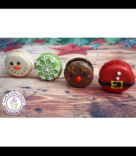 Christmas Themed Macarons 01