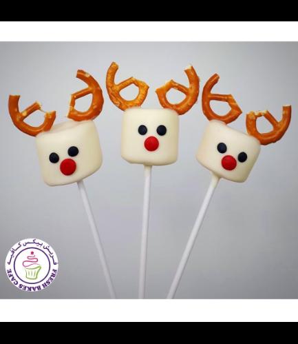Marshmallow Pops - Reindeers 02