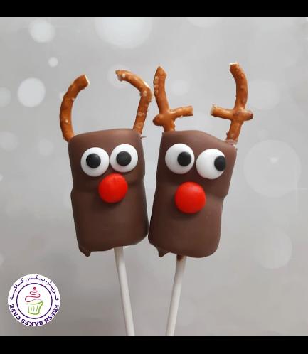 Marshmallow Pops - Reindeers 01