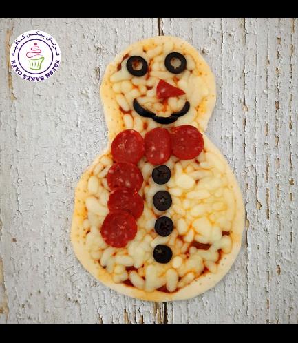 Pastries - Pizza - Snowman