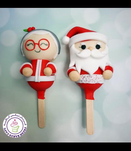 Popsicakes - Ms Claus & Santa 02