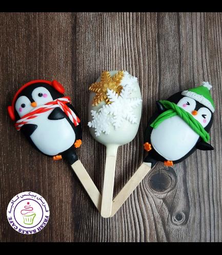 Popsicakes - Penguins & Snowflakes