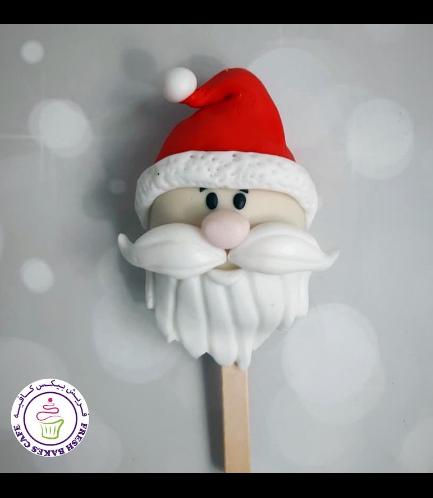 Popsicakes - Santa