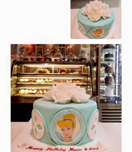 Cinderella Themed Cake 01
