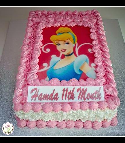 Cinderella Themed Cake 03