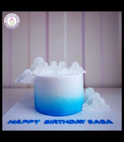 Cake - 2D Clouds 01