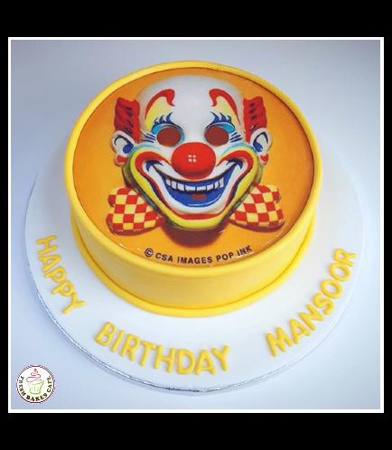 Clown Themed Cake